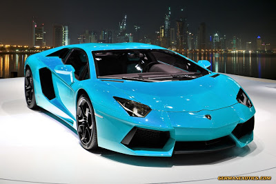 Photo Mr Al Thani Lamborghini Aventador In Turquoise