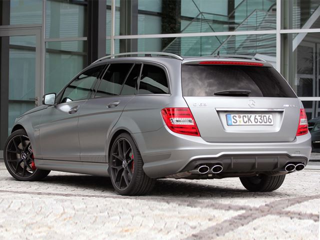 Good morning to the 2014 mercedes benz c63 amg edition 507 for Mercedes benz c63 amg wagon
