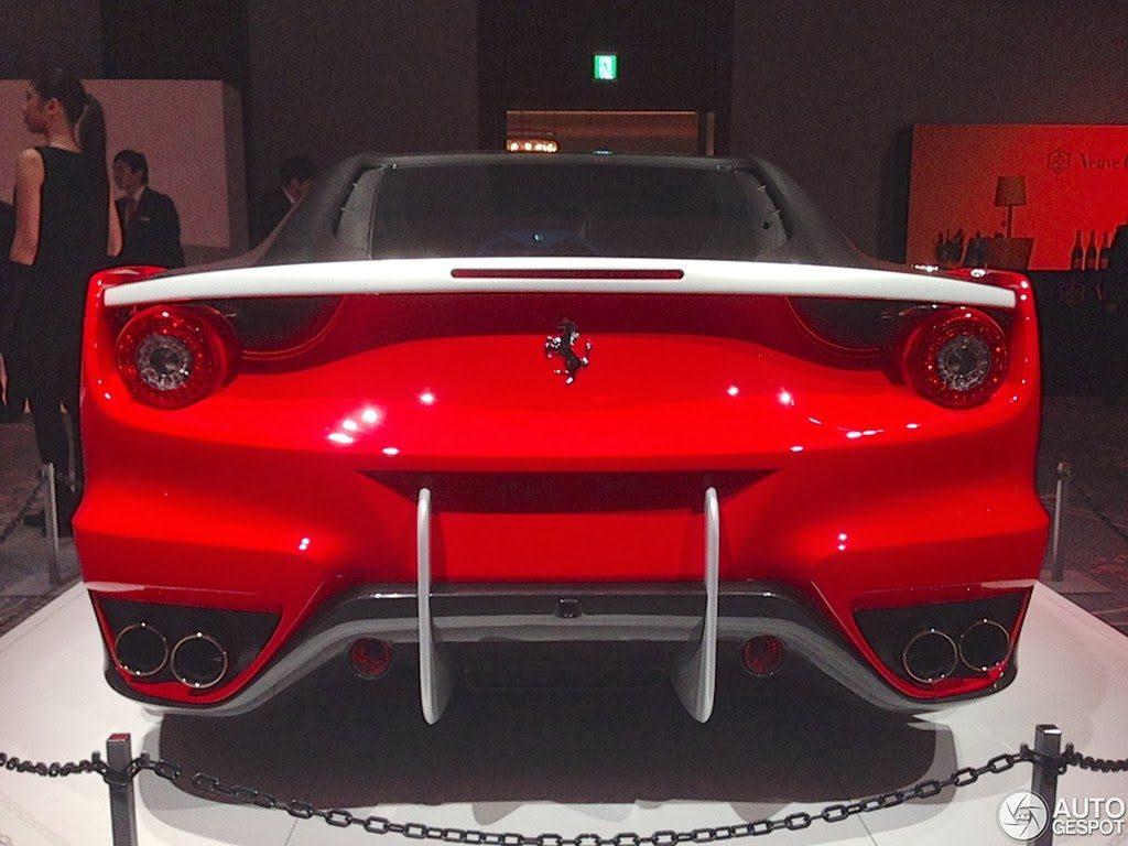 The One Off Ferrari Sp Ffx Shown In Full