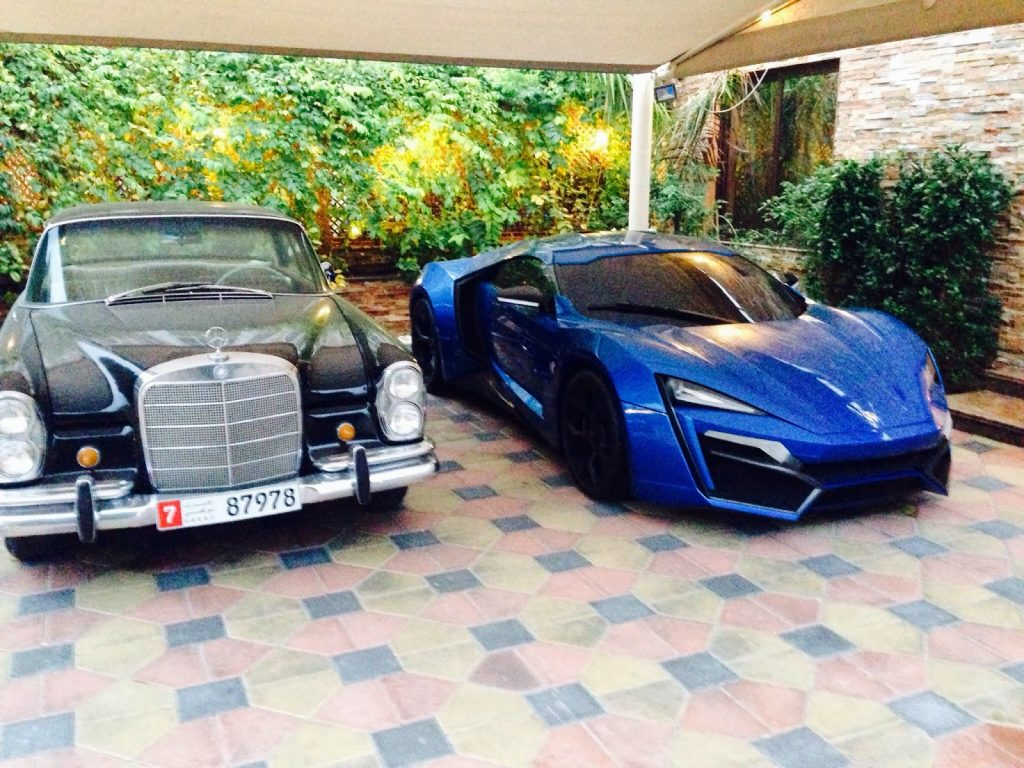 Photo Blue Lykan Hypersport Spotted In Dubai