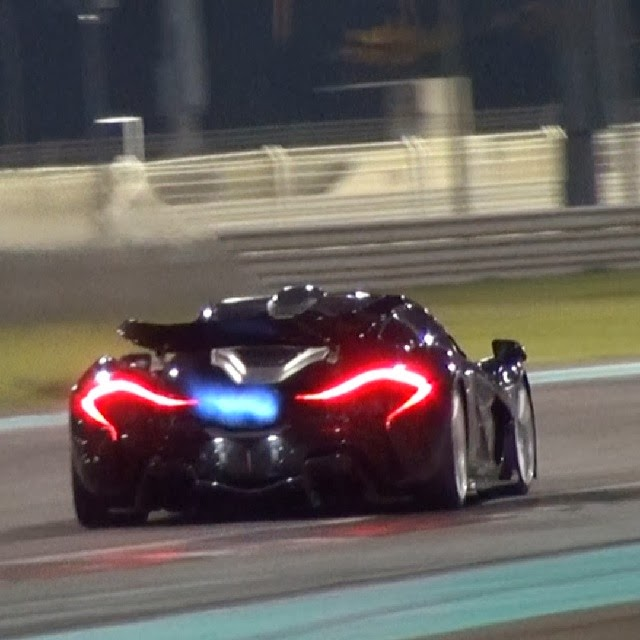 Turns Out The Mclaren P1 Is A Flame Thrower