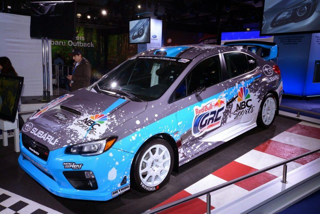 Mystery Wrx Sti Is The New Rally Cross Car