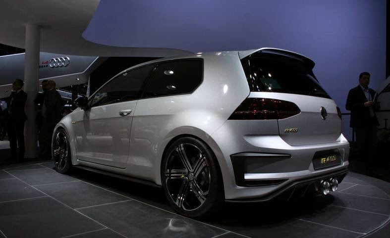 Vw S Bonkers Golf R 400 Concept Will Be Built
