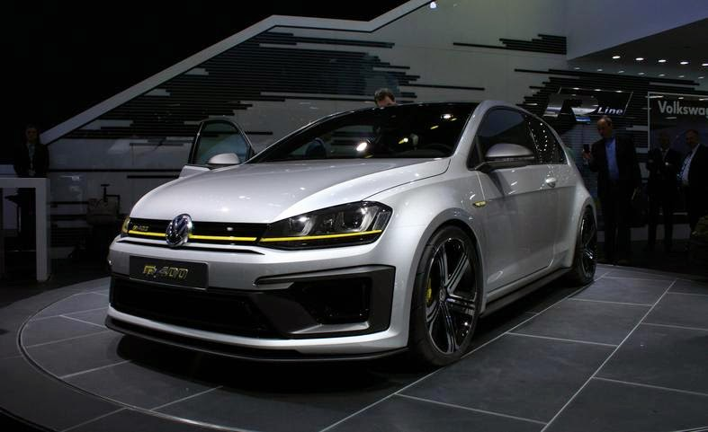 vw 39 s bonkers golf r 400 concept will be built. Black Bedroom Furniture Sets. Home Design Ideas