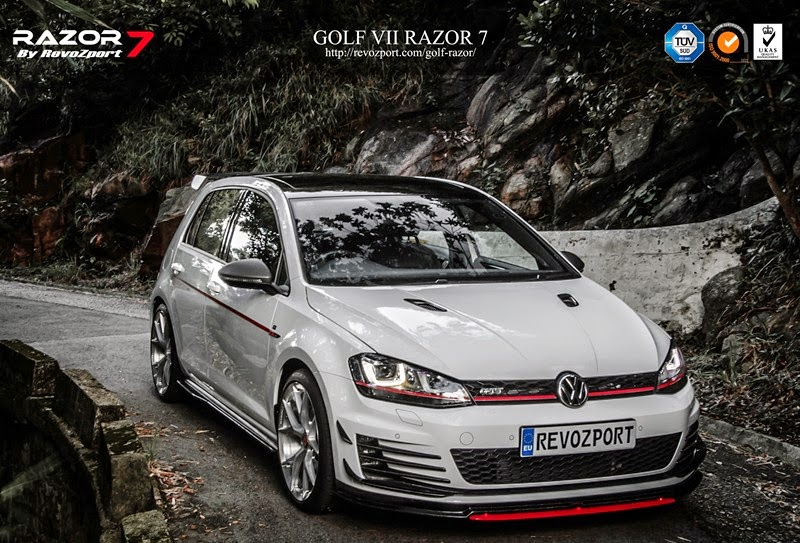 the razor 7 turns vw golf gti into angry german demon. Black Bedroom Furniture Sets. Home Design Ideas