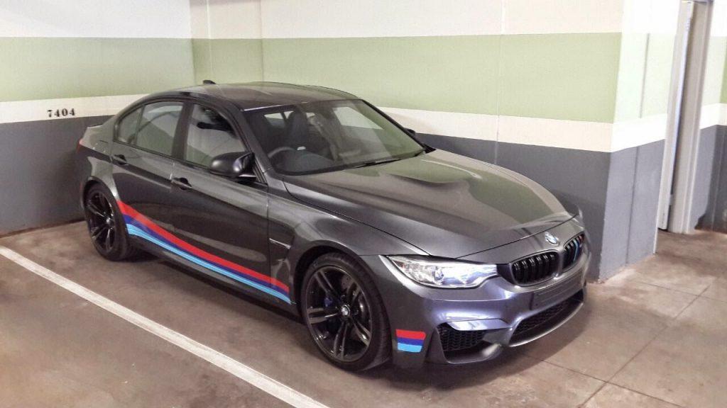 Mineral Grey Bmw M3 Gets Black Detailing And Motorsport