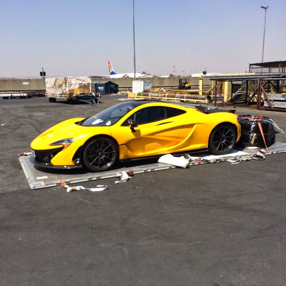 McLaren P1 Arrives In South Africa For Rogue Rally And Track Day