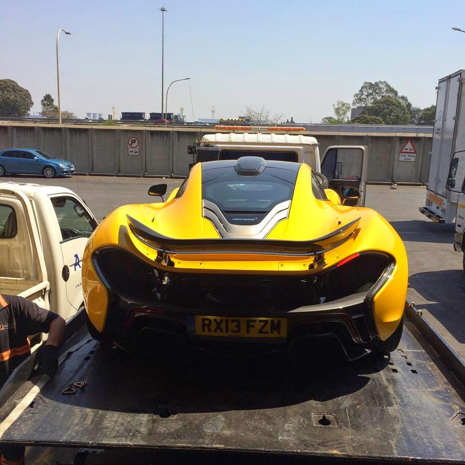 McLaren P1 Arrives In South Africa For Rogue Rally And