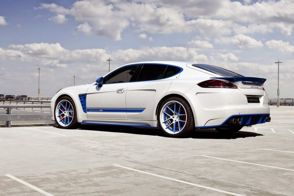 Porsche Panamera Stingray Gtr By Topcar Is Pricey And Overkill