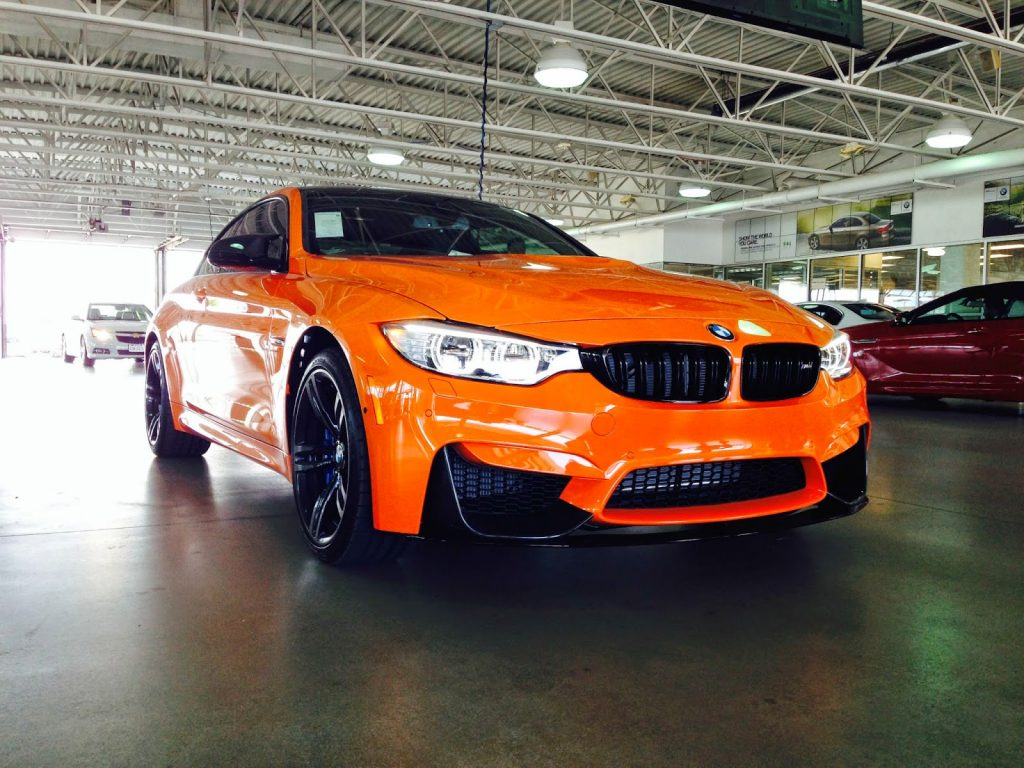 Bmw M4 Kitted Out Like Lime Park Rock Edition