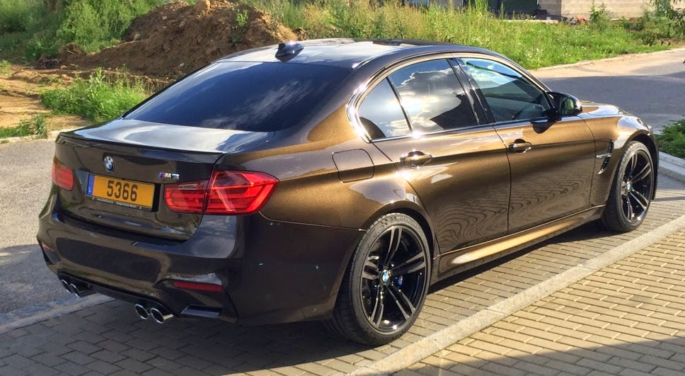 Bmw M3 In Pyrite Brown Not My Cup Of Tea