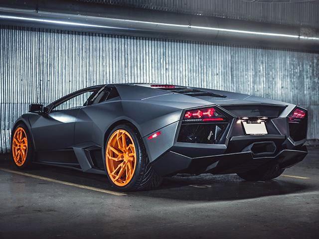 Lamborghini Reventon Gets Orange Pur Wheels