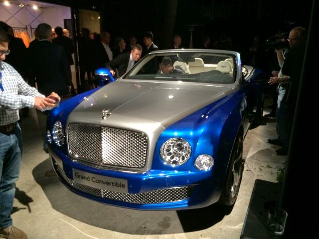 Bentley Unveil Their Grand Convertible Concept With Possible Production