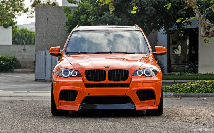 BMW X5M Finished In Fire Orange