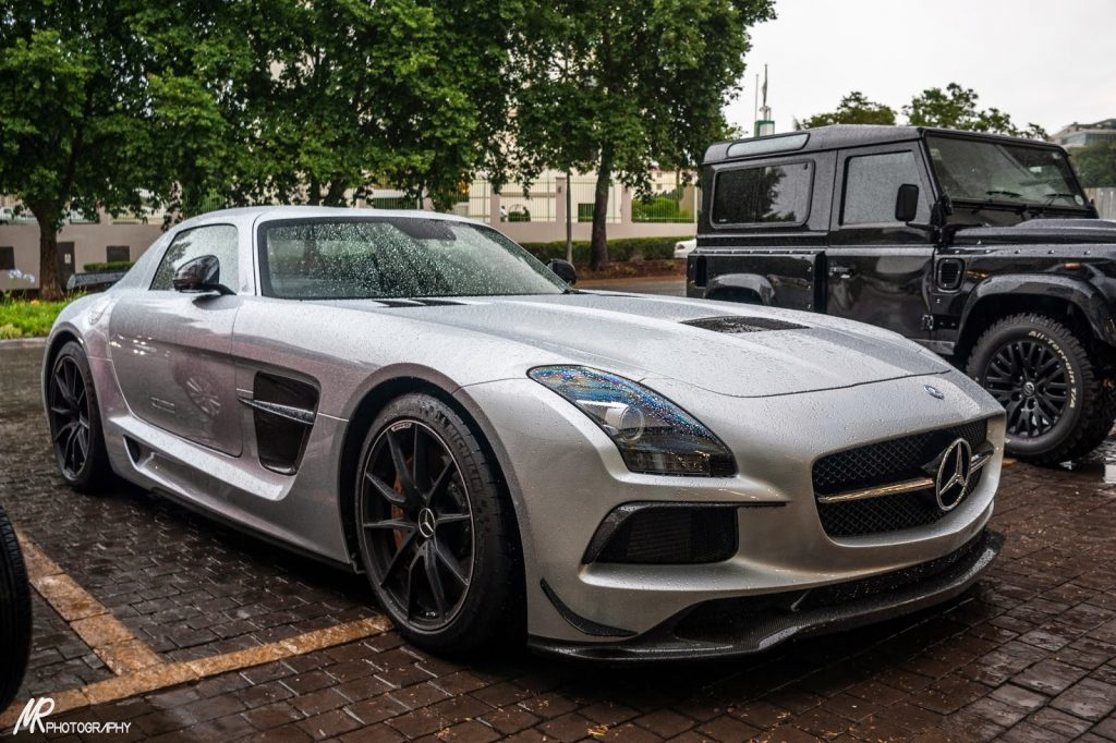 Silver Mercedes Benz Sls Amg Black Series Spotted In Johannesburg