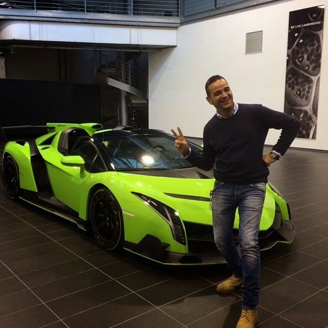 Kris Singh Has Just Bought A Lamborghini Veneno Roadster