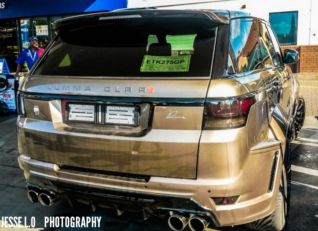 Lumma Design Range Rover Clr Rs Spotted In South Africa