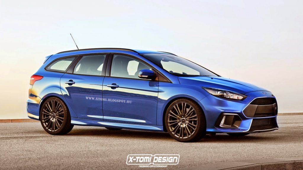 New Ford Focus RS Imagined As A Wagon