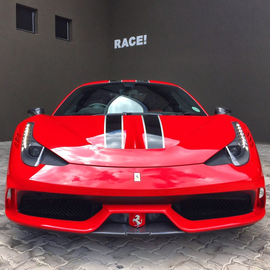 Ferrari 458 Speciale Kitted Out In Carbon In South Africa