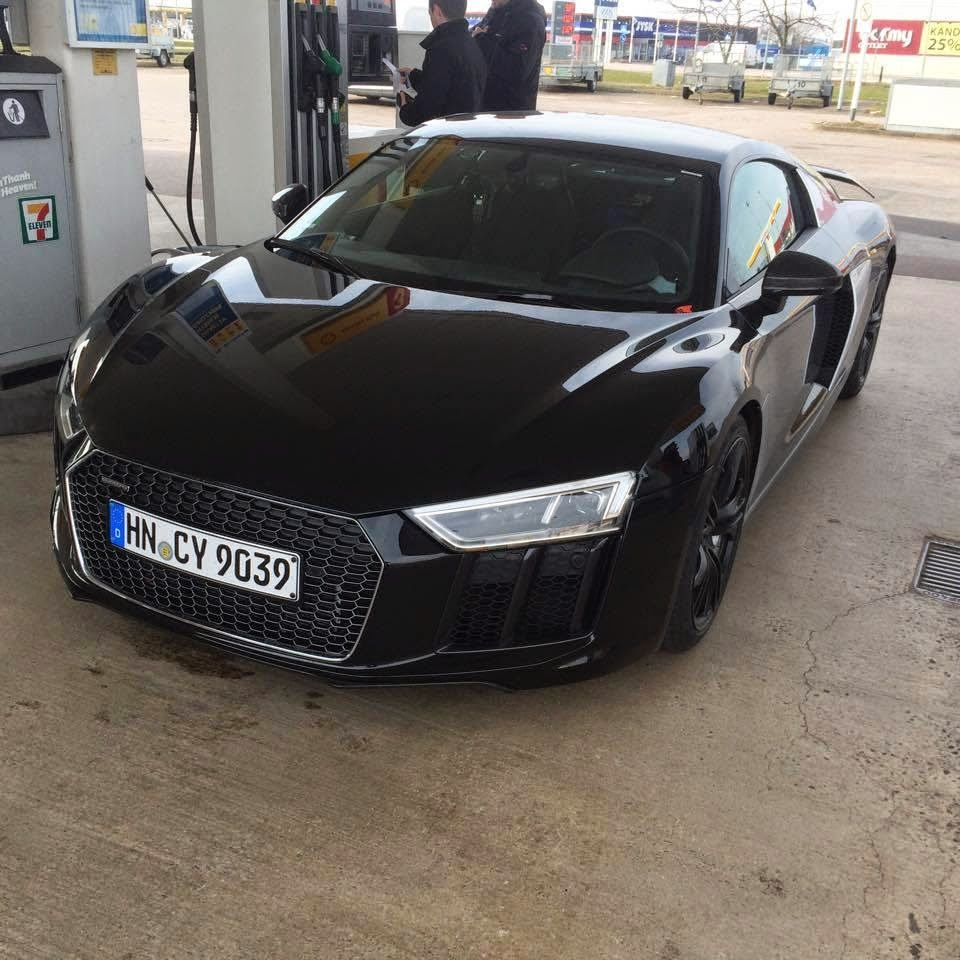 Turbo Kit Audi R8 V10: New 2015 Audi R8 V10 Plus Seen In The Wild In Sweden