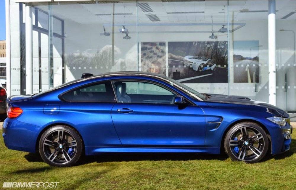 Avus Blue Bmw M4 Individual Looks Spectacular