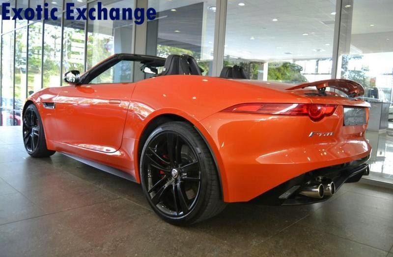 Click Here To View The Firesand Orange F Type And Here To View The Red  Vehicle.