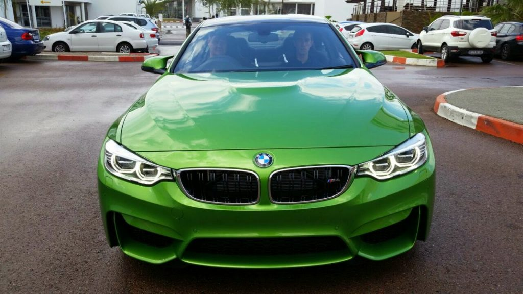 Java Green BMW M4 Touches Down In South Africa