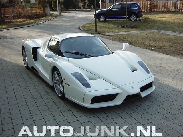Ferrari Enzo White Car Image Ideas