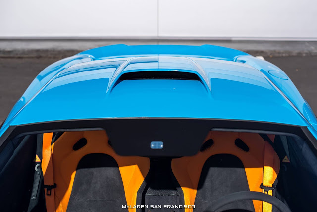 Mexico Blue McLaren 675LT Looks Brilliant With MSO Roof ...