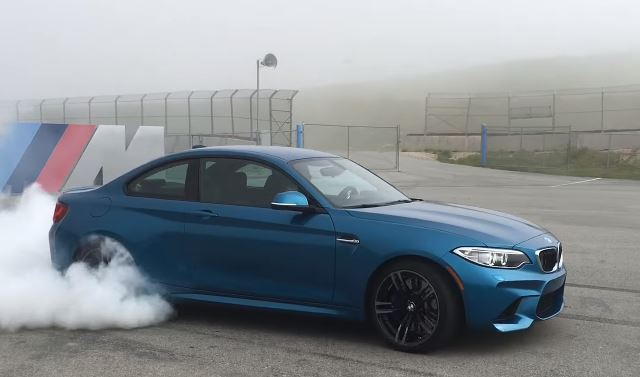 Bmw M2 Shreds Its Tyres In Insane Burnout Video