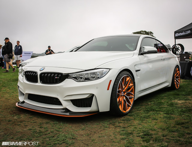 Bmw M4 Gts Loses Stock Orange Wheels For Some Hre S