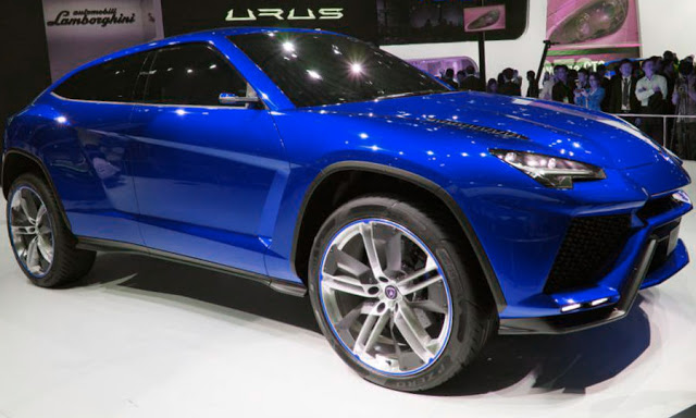 Lamborghini Urus SUV Will Be Their First Model In Their ...